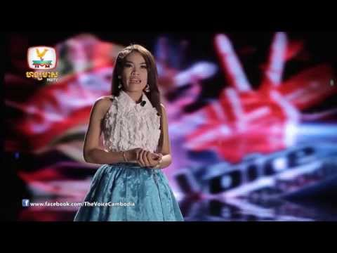 The Voice Cambodia - Morm Sina - Mean Jeat Kraoy Jam Juob Knea - 31 Aug 2014