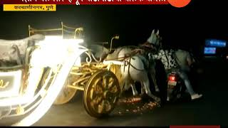 Pune | Kalyaninagar | Horse Cart Accident One Injured