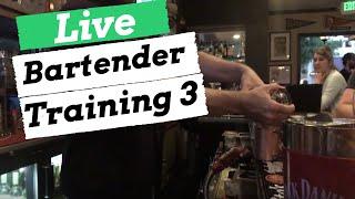Become a Bartender: Live Bartender Training Part 3