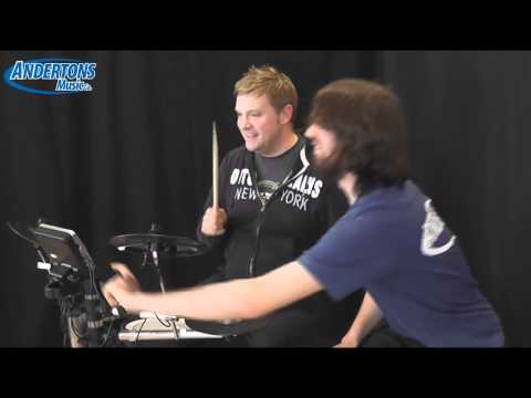 Roland HD-3 V-Drums Demo - First Look - Great for Beginners