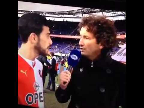 Graziano Pellè noemt Jan Joost van Gangelen een Ajax-supporter