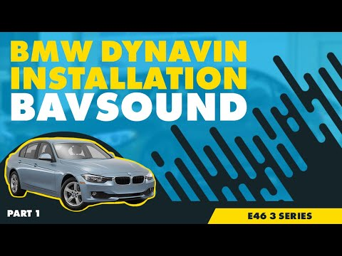 Bavsound - Dynavin - BMW E46 3 Series Installation - Part 1/2