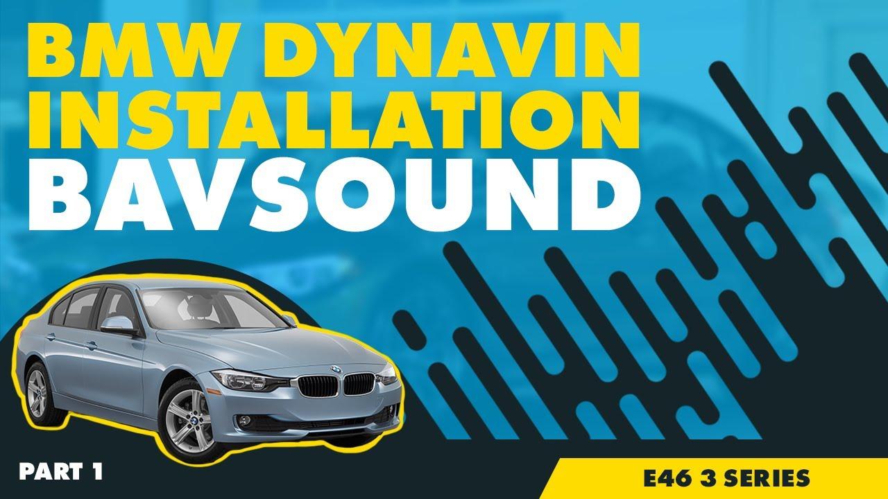 Bavsound Dynavin Bmw E46 3 Series Installation Part