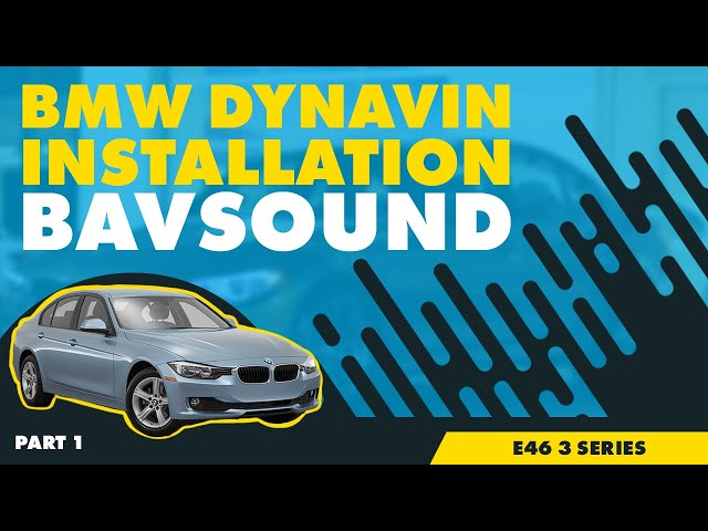 Dynavin - BMW E46 3 Series Installation - Part 1/2 - YouTube