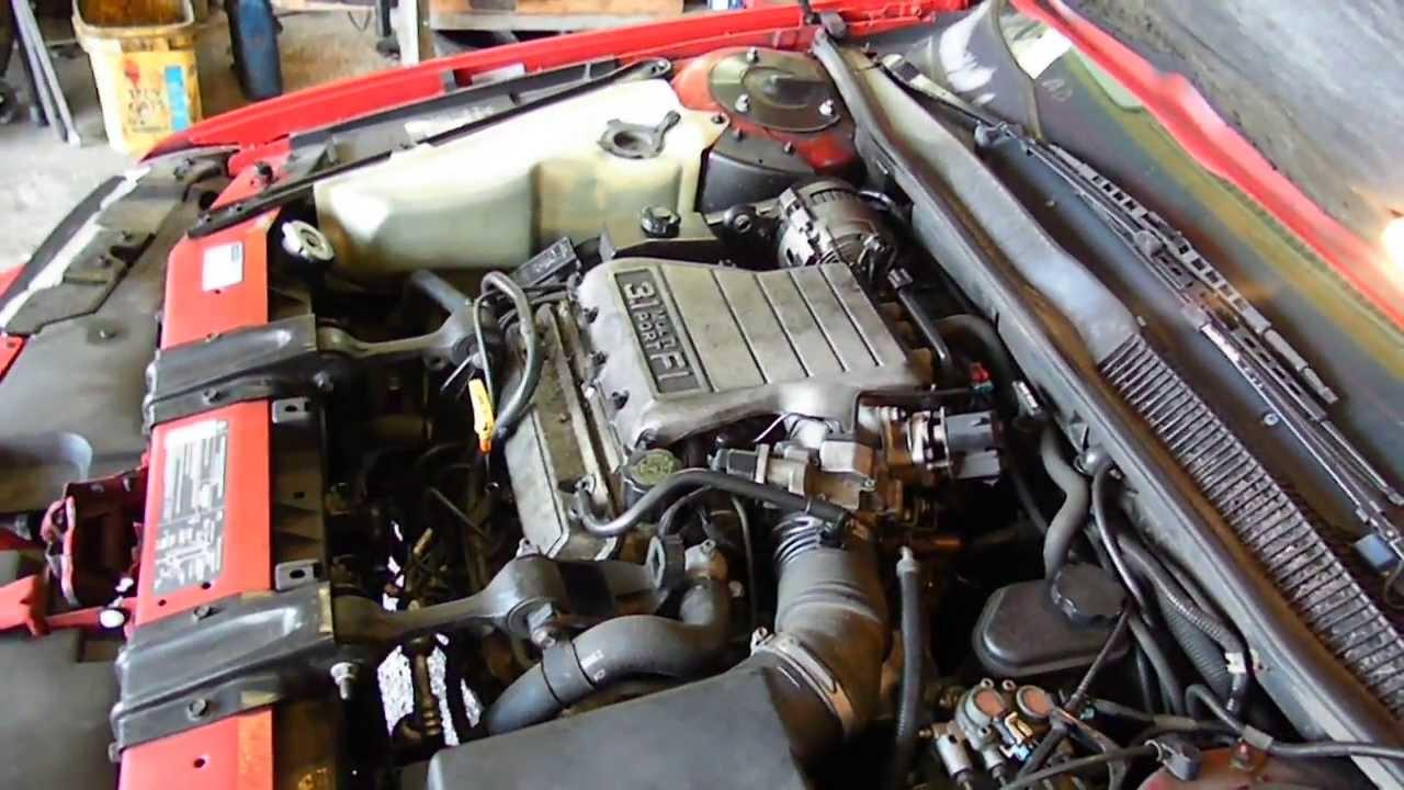 13cx137 1993 Chevy Lumina Car Euro 3 1 A T  Fwd185745