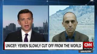 UNICEF Yemen Rep. Julien Harneis tells CNN of the situation in Yemen - 14-8-2016
