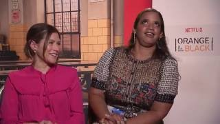OITNB Lorna Morello & Dayanara Diaz Interview