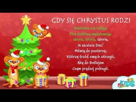 Gdy Się Chrystus Rodzi - Polskie Kolędy + Tekst (karaoke)