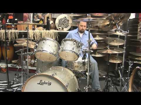 Ludwig Centennial 5 Piece Maple Drum Kit