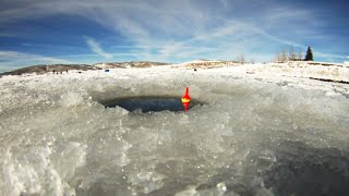 Ice Fishing Strawberry Reservoir Utah