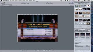 DVD Studio Pro Tutorials