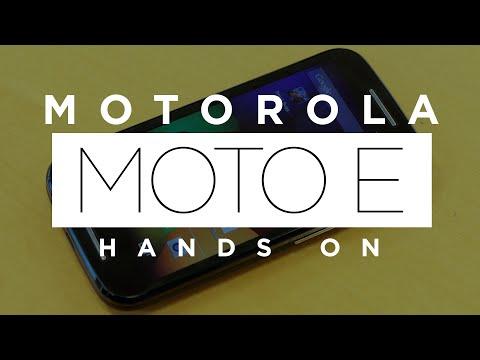 Motorola Moto E | Primeras impresiones review (en español)