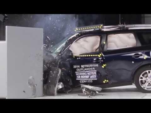 2014 Mitsubishi Outlander: Краш-тест