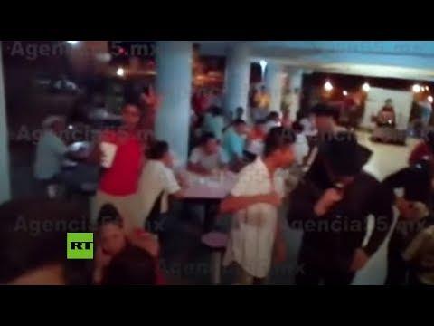 """Presos organizan una """"pachanga"""" con alcohol y un grupo musical en una cárcel en México"""