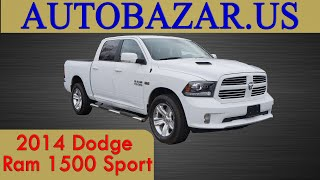 2014 Dodge Ram 1500 Sport видео. Тест драйв Додж Рам 1500 Спорт 2014. Авто из США.