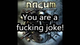 Watch Nasum Dis Sucks video