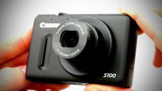 Canon S100 Unboxing & Overview