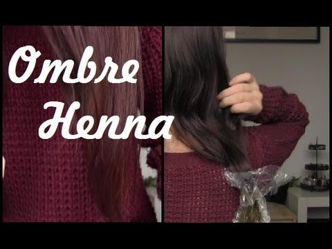 Dip Dying Hair With Henna An Experiment YouTube