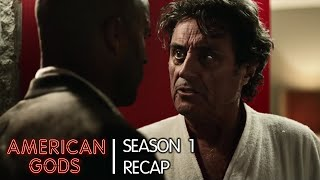 Season 1: The Story & Mythology So Far | American Gods