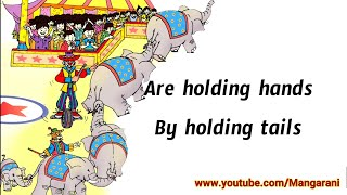holding hands 3rd class english rhyme, 3rd class english all rhymes