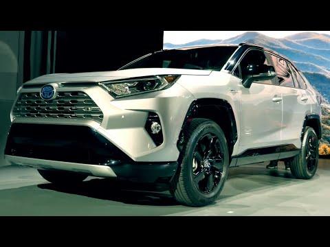 Новая Toyota RAV4 2018 Обзор - КРУЗАК для города