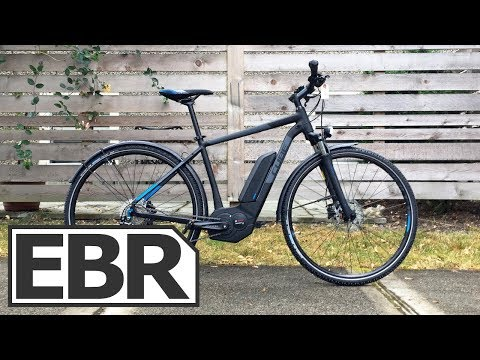 CUBE Cross Hybrid Pro 400 Video Review - $2.6k Bosch CX Electric Bike, Trail Capable