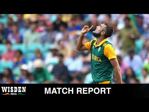 World Cup Match Report | South Africa end knockout jinx | Wisden India