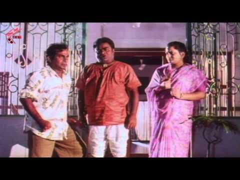Babu Mohan, Brahmanandam Hilarious Comedy Scene     O Thandri O Koduku Movie    Nadhiya