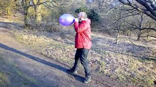 #70 Massive Bang blow to pop echo Tangobaldy  Balloon Fun