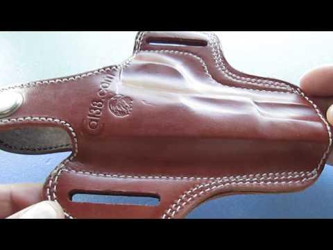 Tokarev TT-30,33,TTC,M57,M70 leather holster tan black