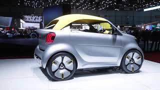 smart forease+ Concept Car At the 2019 Geneva International Motor Show