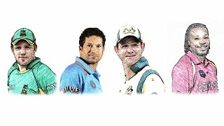 TOP 10 Batsmen with Most ODI Centuries