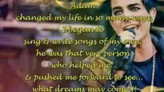 Olvya ft. Nikole Faizieva - How Adam Lambert Changed My Life!