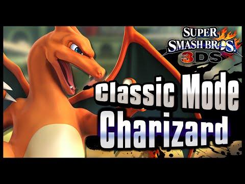 Super Smash Bros. 3DS | Classic Mode w/ Charizard!