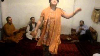 18 Years Afghan Girl Dance On Rabab