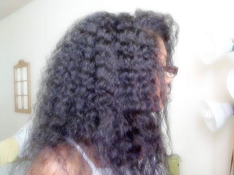 Coconut Oil on Natural Hair Results & Thank u 2 all Subbies!!
