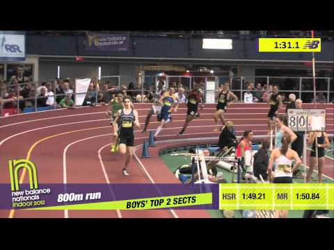 B 800 H03 (Ben Malone 1:49.94 #2 all-time over Watkins, HS Indoor Nationals 2012)