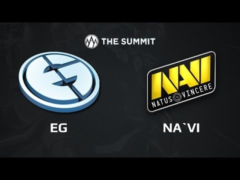 EG vs NaVi.UA, The Summit Day 1, Game 5