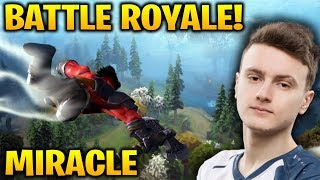 MIRACLE DOTA BATTLE ROYALE - THE UNDERHOLLOW Game 1