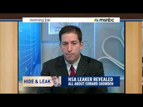 Glenn Greenwald Tells MSNBC Host Put Down White House Talking Point Memo