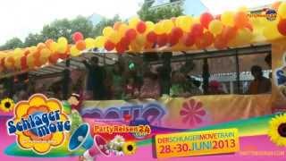 Partyreisen24.com | Schlagermove 2013 | 28.-30.6.2013