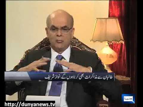 Dunya News at 8 With Malick - 22-04-2013