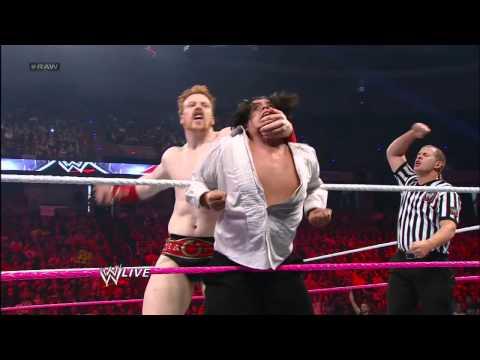 Sheamus, Rey Mysterio & Sin Cara Vs. Alberto Del Rio, David Otunga & Ricardo Rodiguez: Raw, Sept. 24 video