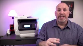 HP OfficeJet Pro 8740 Printer Unboxing And First Look!