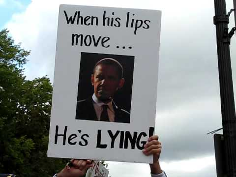 obama only lies when his lips move