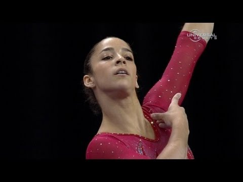 Alexandra Raisman 3rd to start Visa Championship - night 1