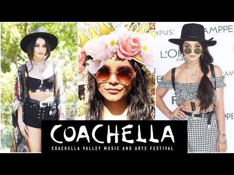 The Queen Of Coachella: Vanessa Hudgens