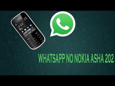 Instalando o What's no Nokia Asha 202