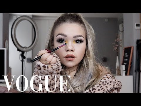 I RECREATED KYLIE JENNER'S VOGUE VIDEO IN MY DRESSING GOWN ...WOW