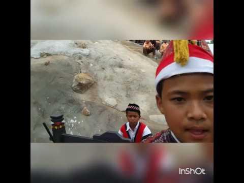 Gordang 9 SMP N 1 Pakantan di Taman Raja Batu Madina